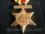 FULL SIZE WW2 AFRICA STAR WITH 8th ARMY CLASP REPLACEMENT COPY